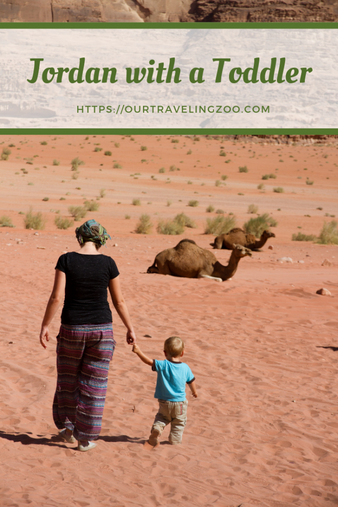 Should you go to Jordan with a toddler? Yes, you should. There is so much to do there! #ourtravelingzoo #Jordan #familytravel