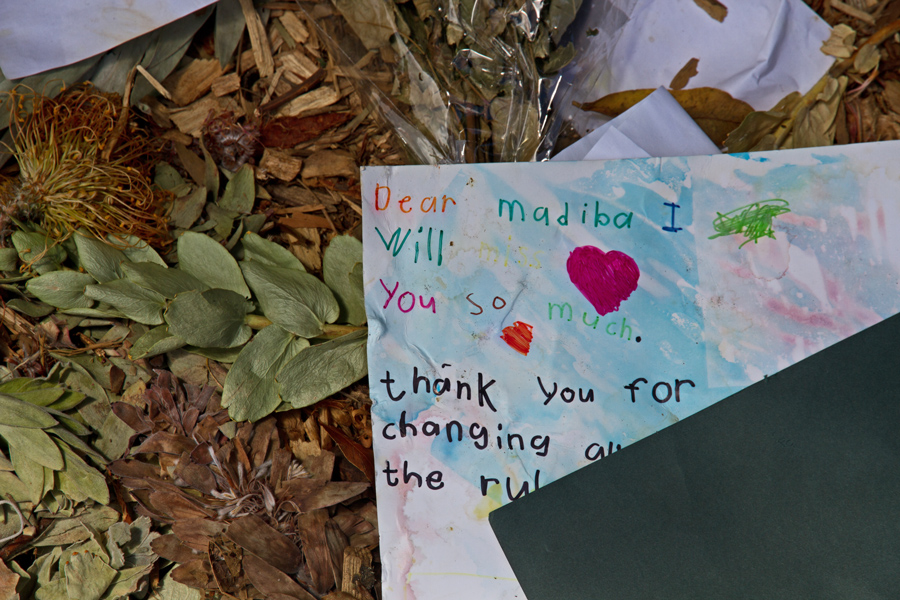 a child's letter to Madiba