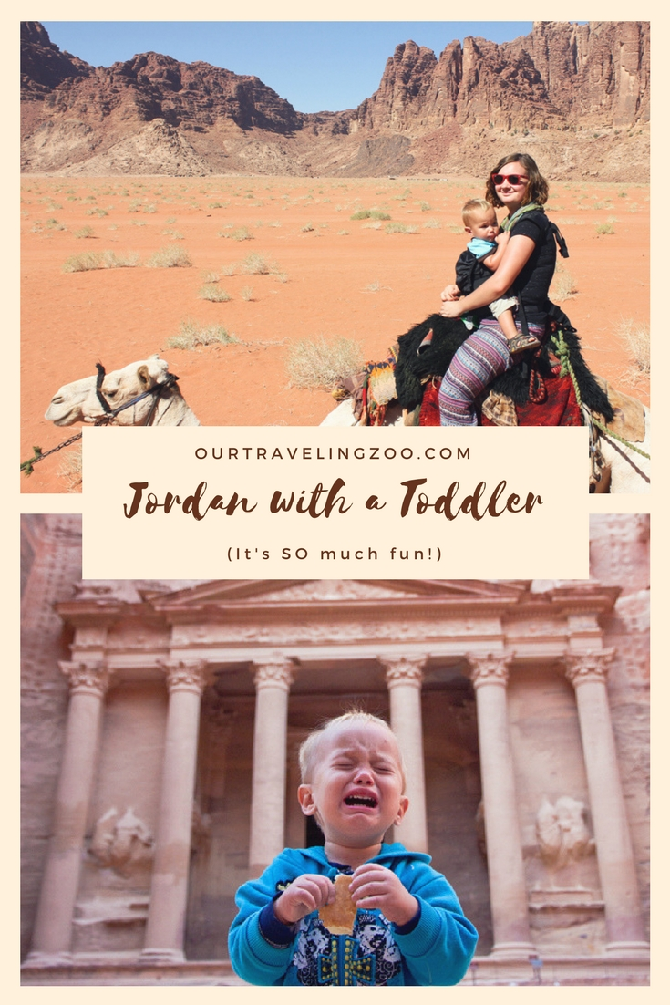 "Jordan with a toddler. Is it safe? What is there to do? Can he (and you!) possibly enjoy it? The answer is a resounding ""YES!"""