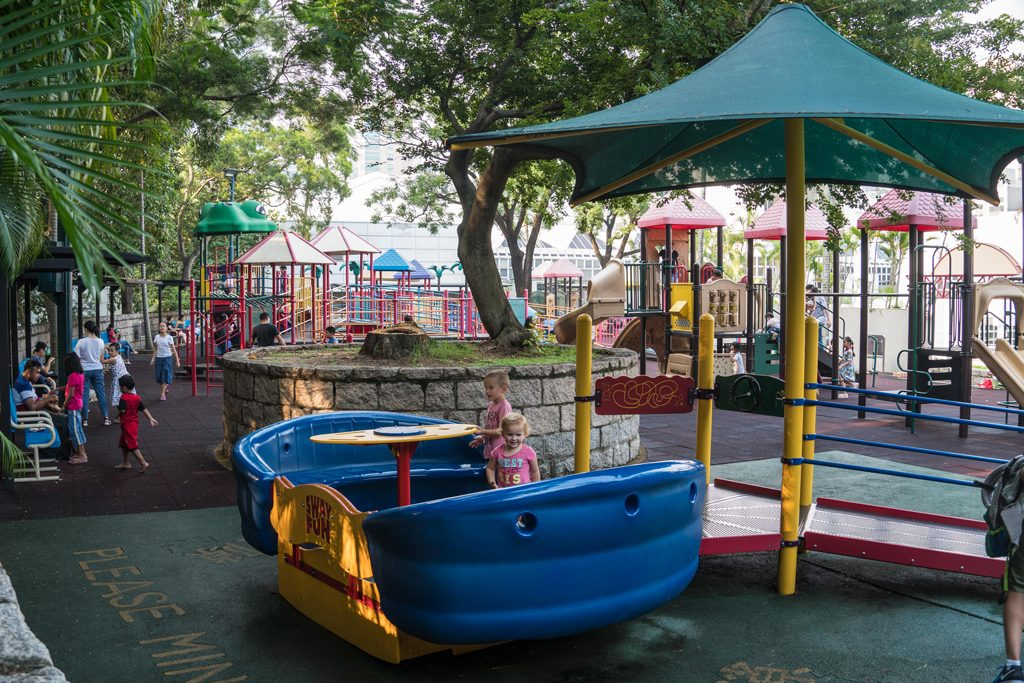 Playground at Kowloon Park, Hong Kong