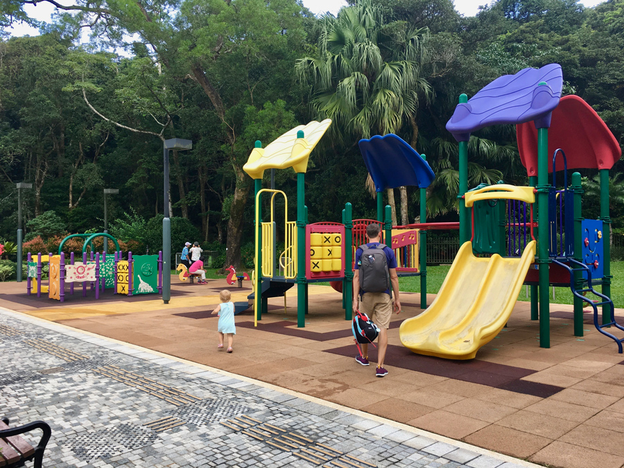 Playground at Victoria Peak