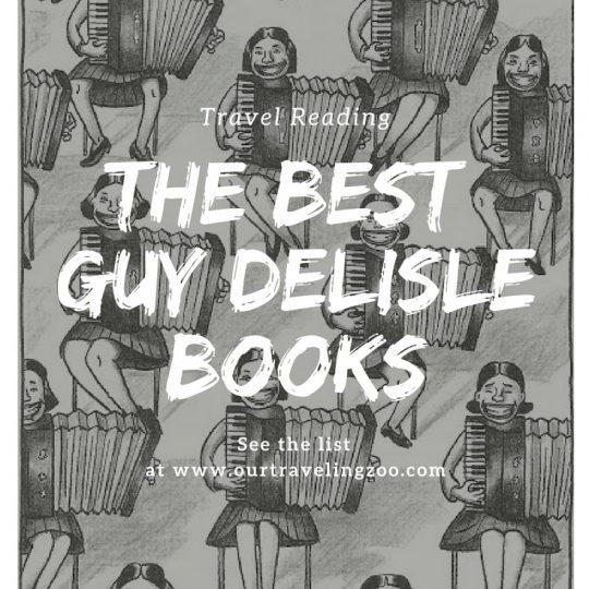 The Best Guy Delisle Books