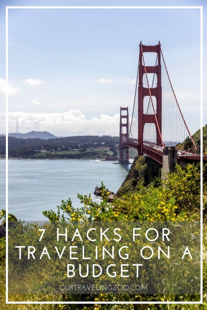 hacks for budget travel