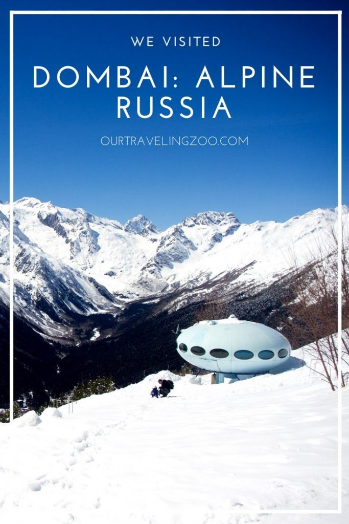 Dombai is a mountain in the Caucasus, a stunning place to visit when traveling Russia