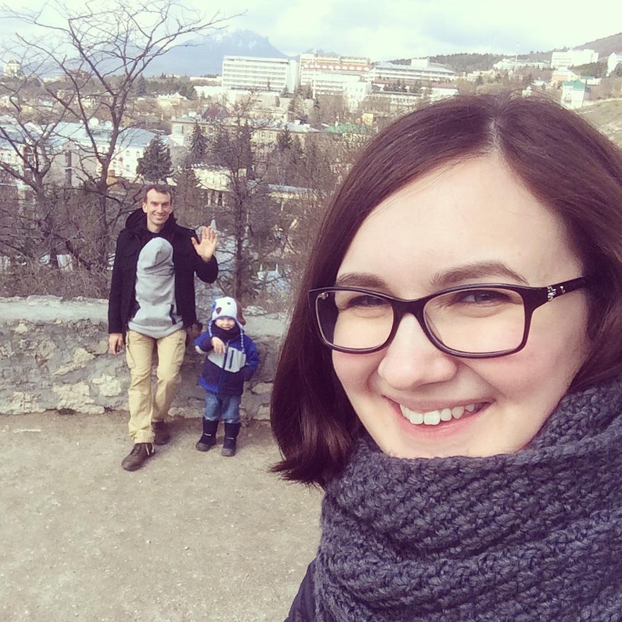 Pyatigorsk family selfie
