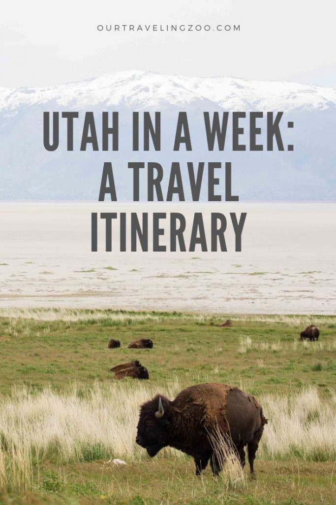 Utah itinerary ideas