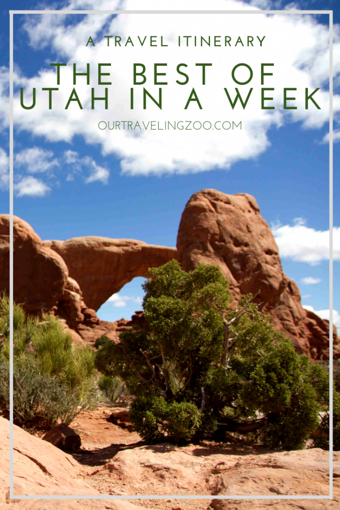 Do you have a week to spend in Utah? Check out our best of Utah itinerary
