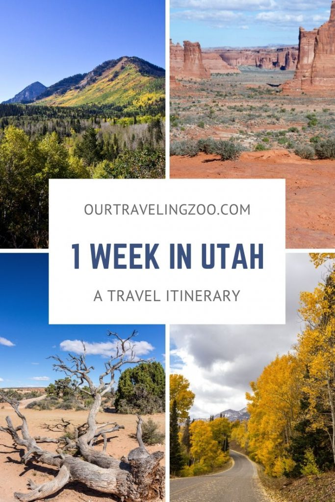 What do you do if you have a week to explore Utah? Check out our Utah itinerary to get some ideas