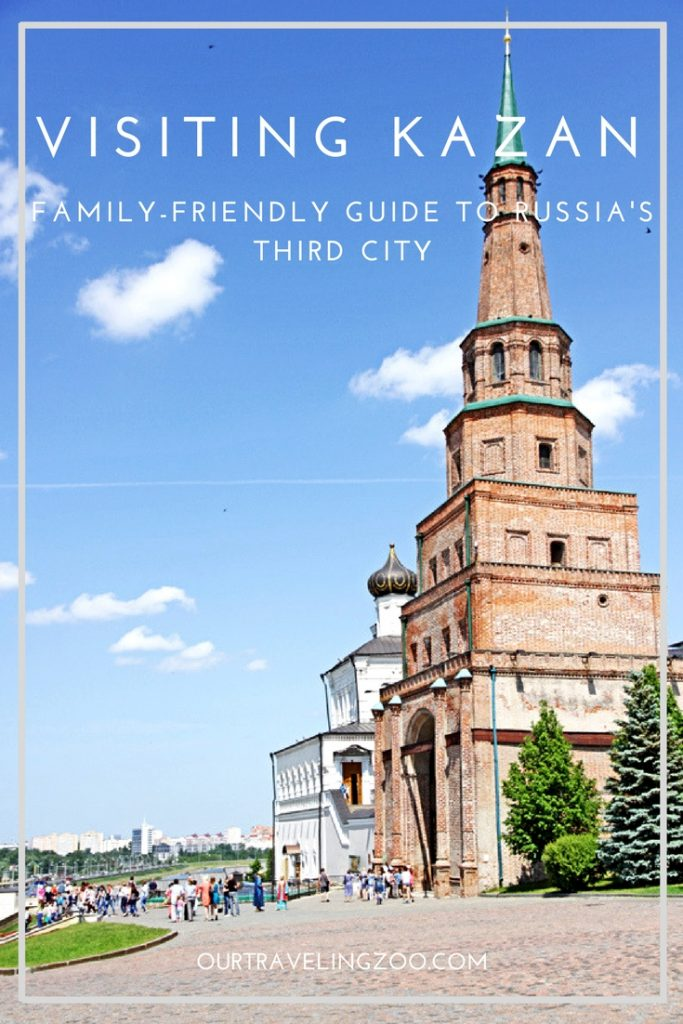 Kazan is Russia's third city and home to some of the FIFA 2018 games. What can you do there besides going to a match? Read our guide!