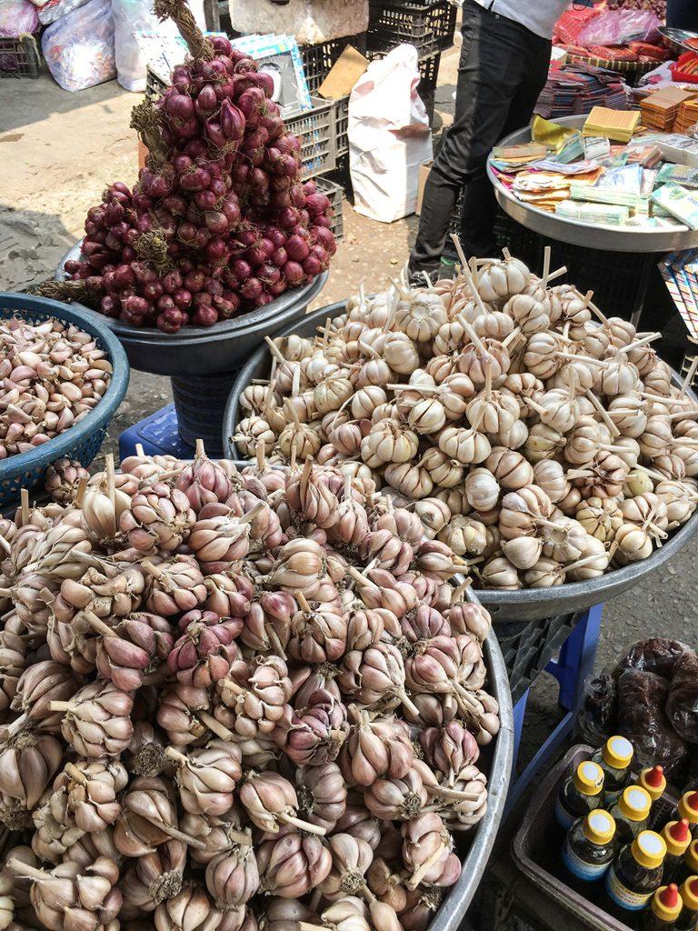 market garlic vietnam