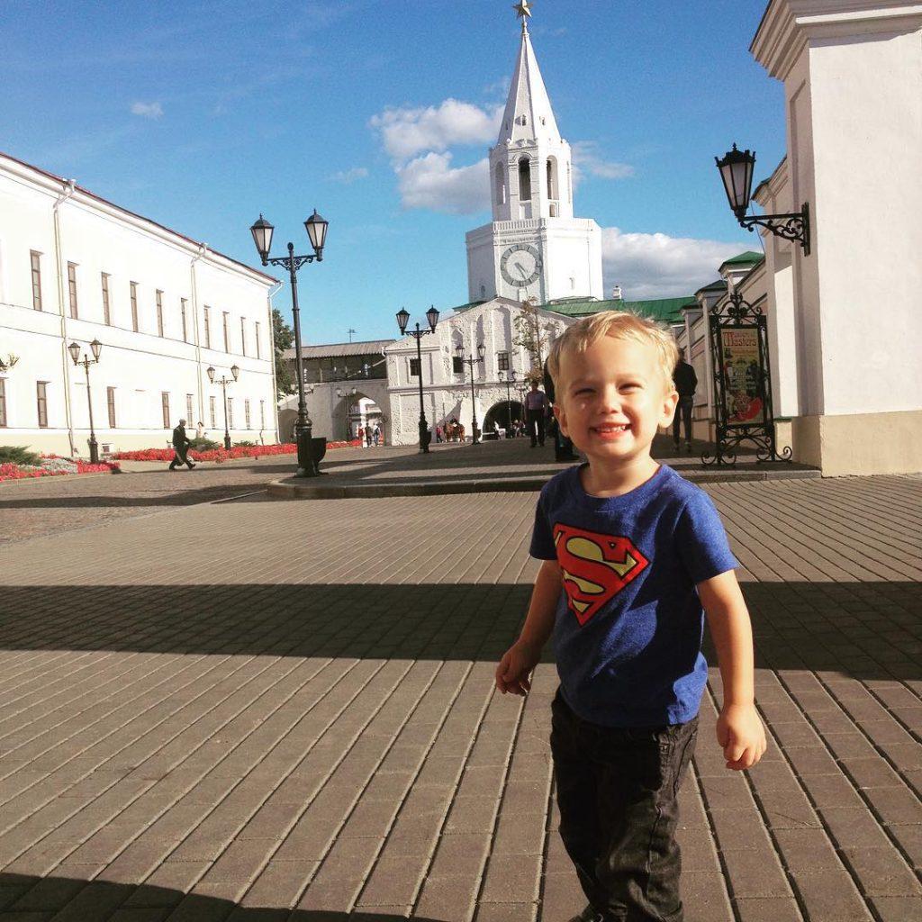 toddler Kazan Kremlin