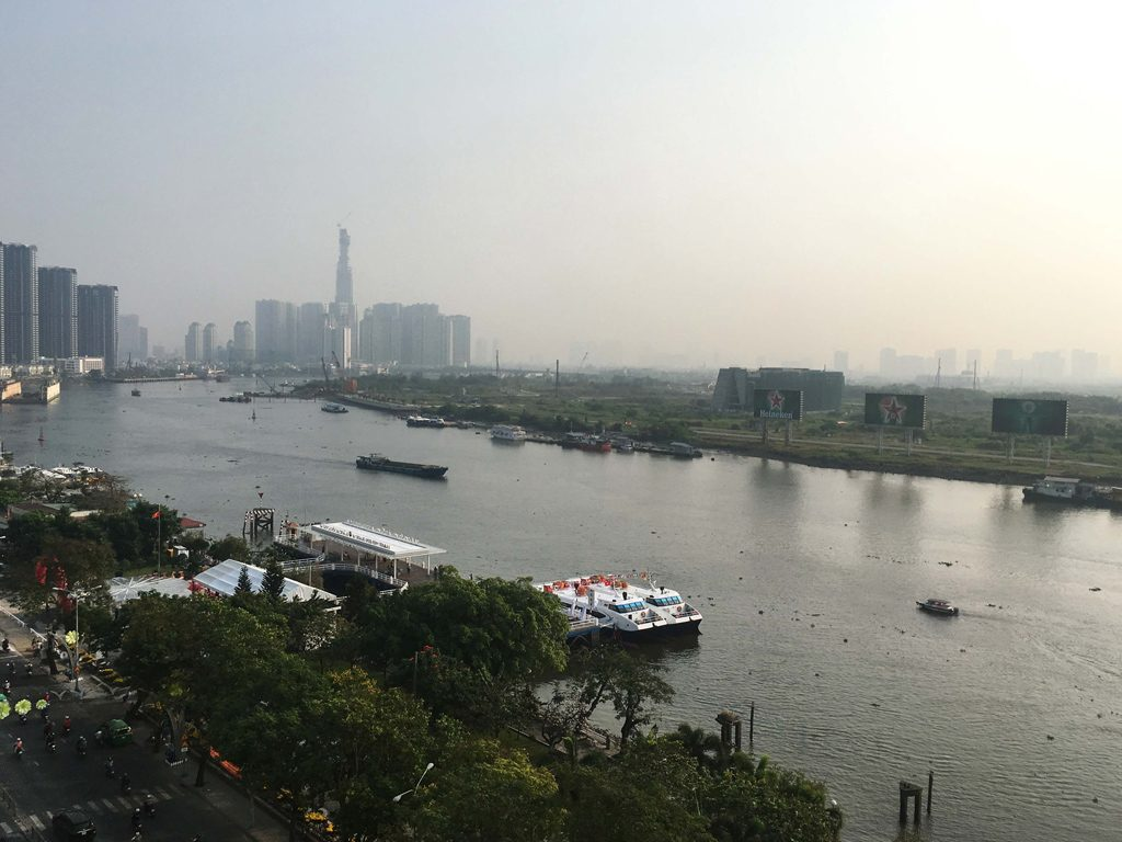 view from Majestic Saigon