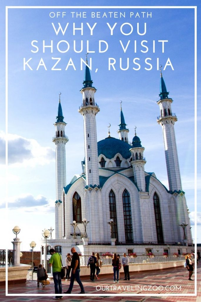 Why you should get off the beaten path and visit Kazan, Russia