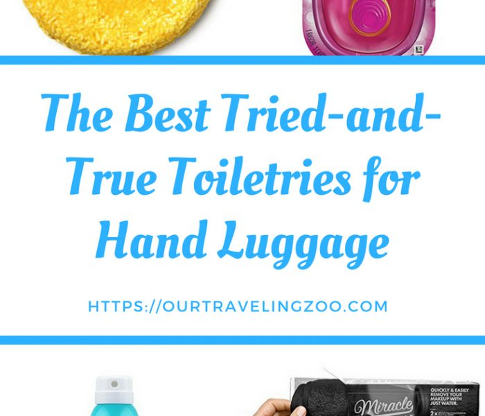 The Best Toiletries for Hand Luggage
