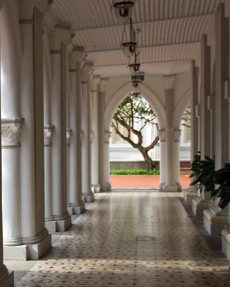 colonnade at CHIJMES