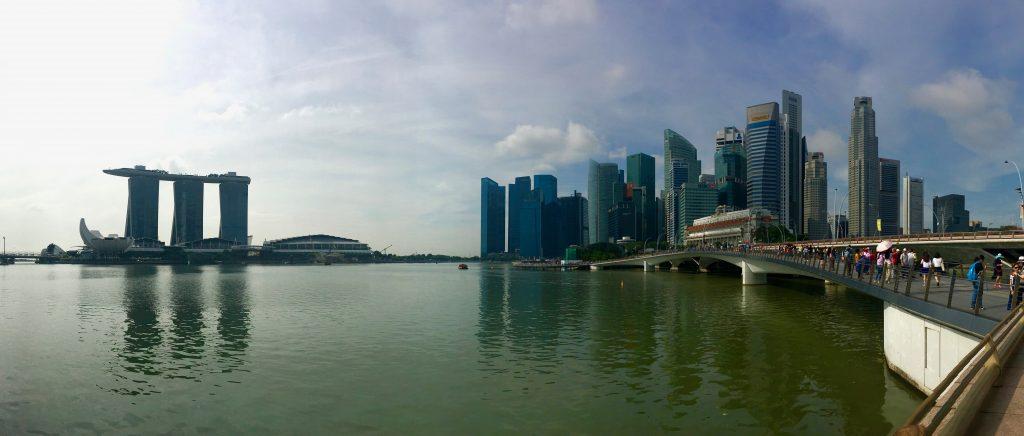 Singapore Marina Bay Panorama