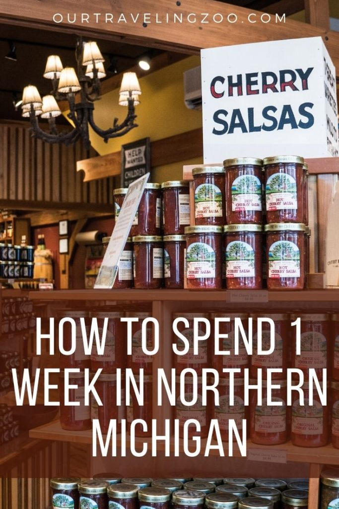 How should you spend 1 week in Northern Michigan? This is the advice we got from the locals.