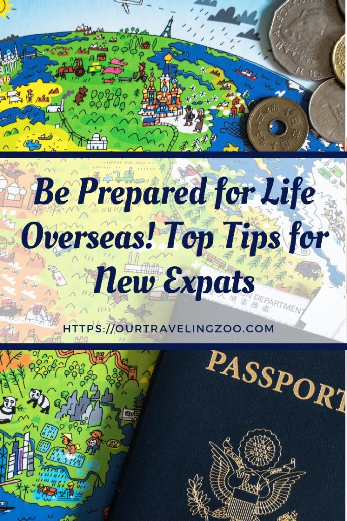 Are you getting ready to move overseas? Read our top tips for new expats