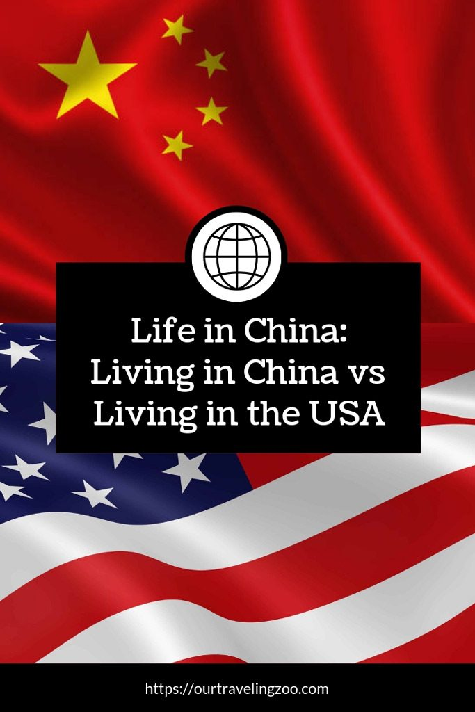 how living in china compares to living in the USA