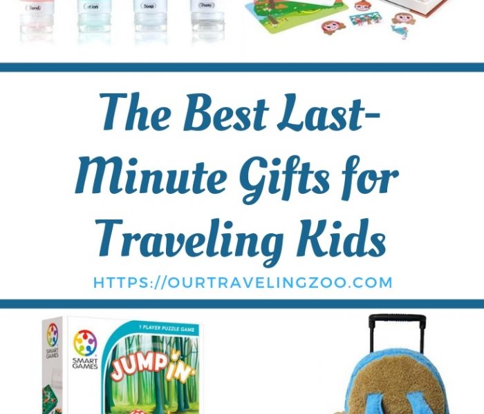 The Best Last-Minute Gifts for Traveling Kids 2018.