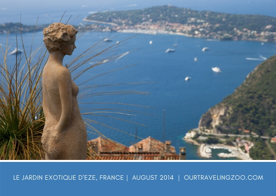 Wednesday Postcard: Eze, France