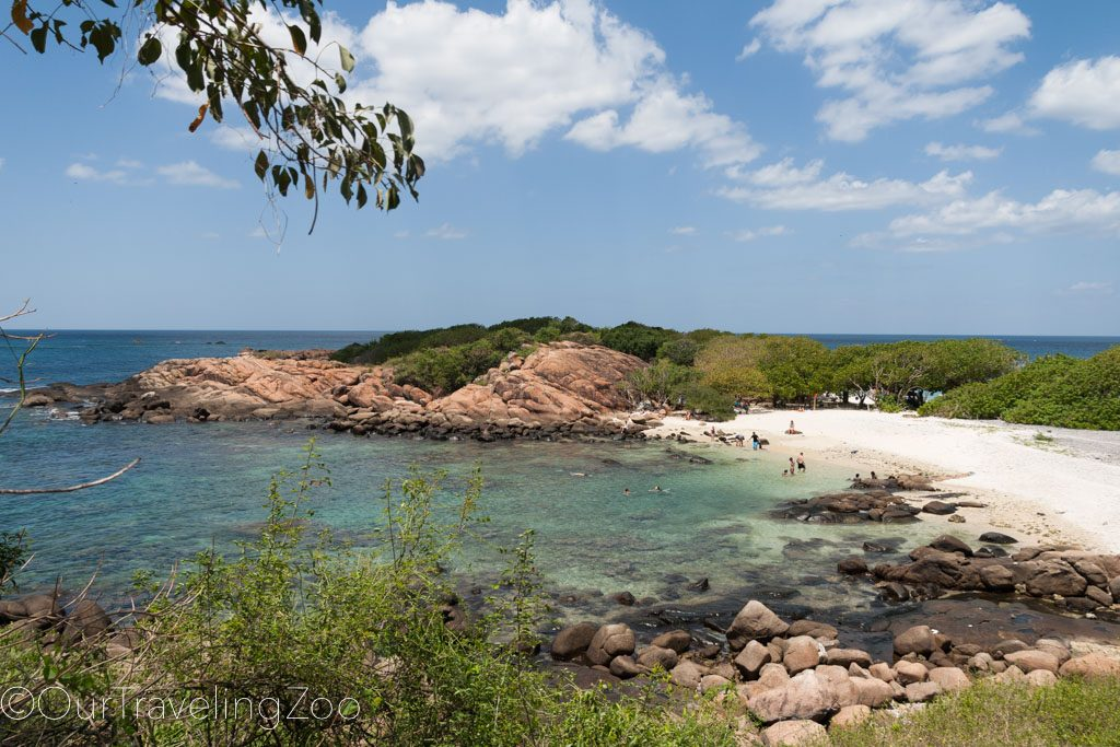 Pigeon Island off the coast of Nilaveli, near Trincomalee, Sri Lanka