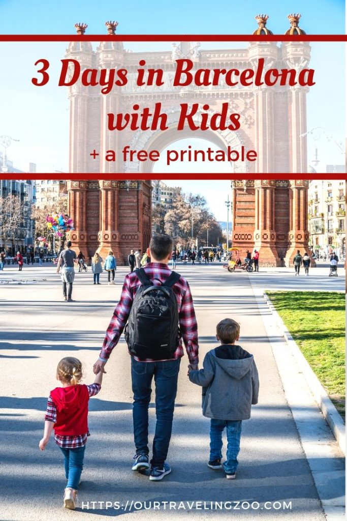 We spent 3 days in Barcelona with kids and lived to tell about our fantastic trip.