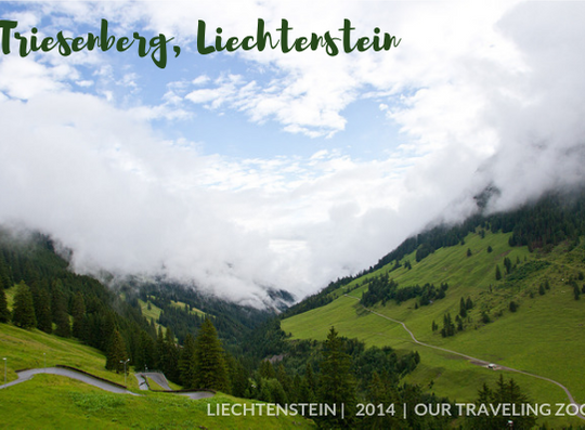 Wednesday Postcard: Triesenberg, Liechtenstein