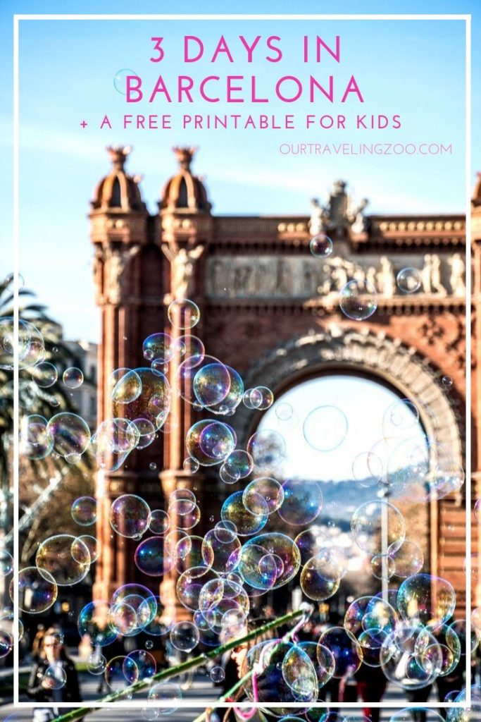 3 days in Barcelona with kids