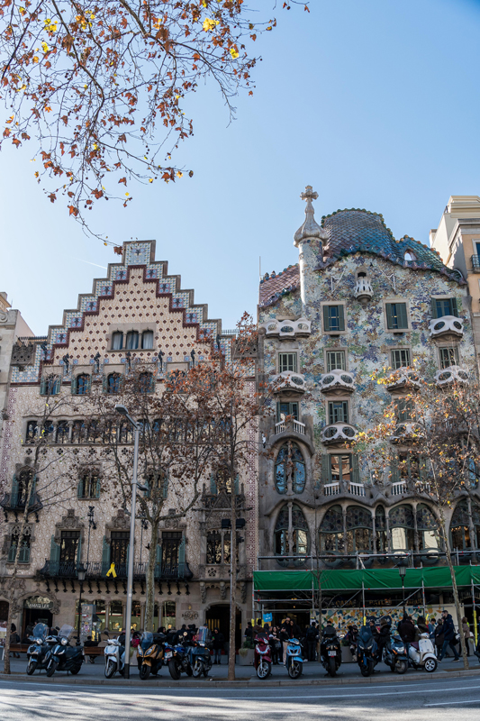 """Casa Batllo and Casa Amatller are a part of Barcelona's """"Block of discord"""""""