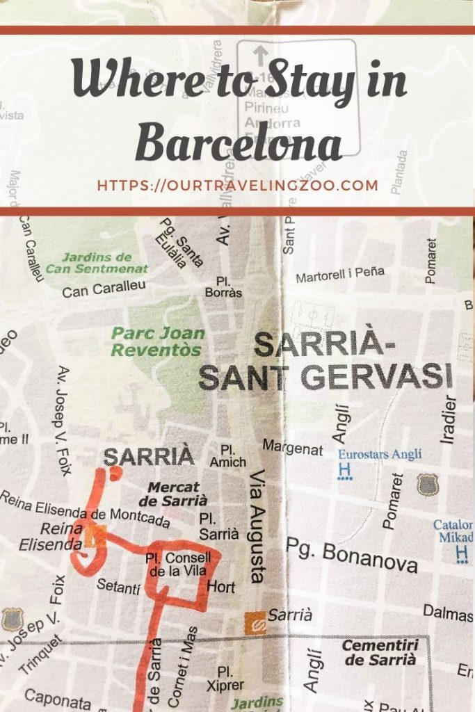 What is the best area to stay in Barcelona? Where should one stay? Here's what we think.