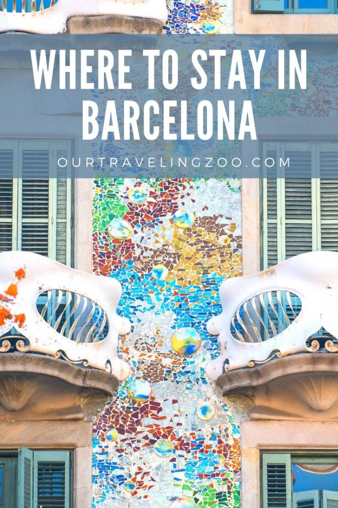 What is the best area to stay in Barcelona? Everyone will tell you differently but this one was our favorite.