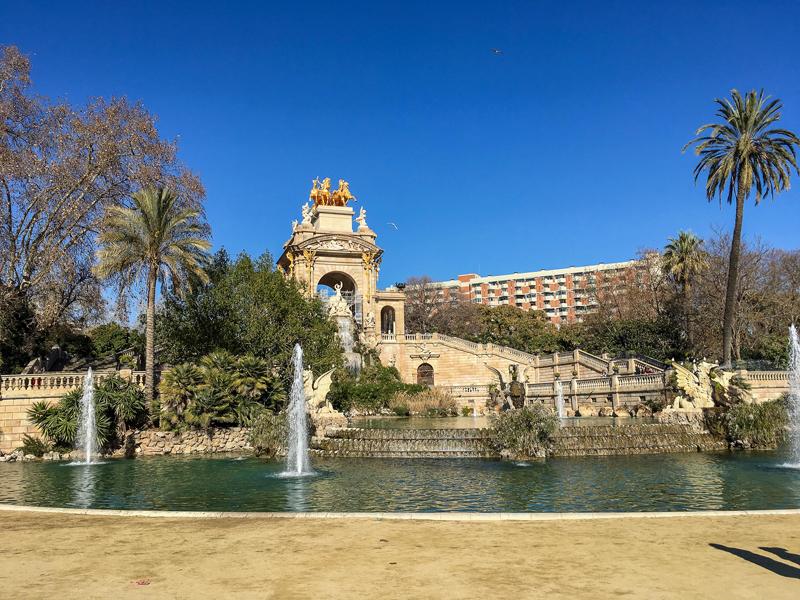 Cascade Fountain in Parc de la Ciutadella, Barcelona