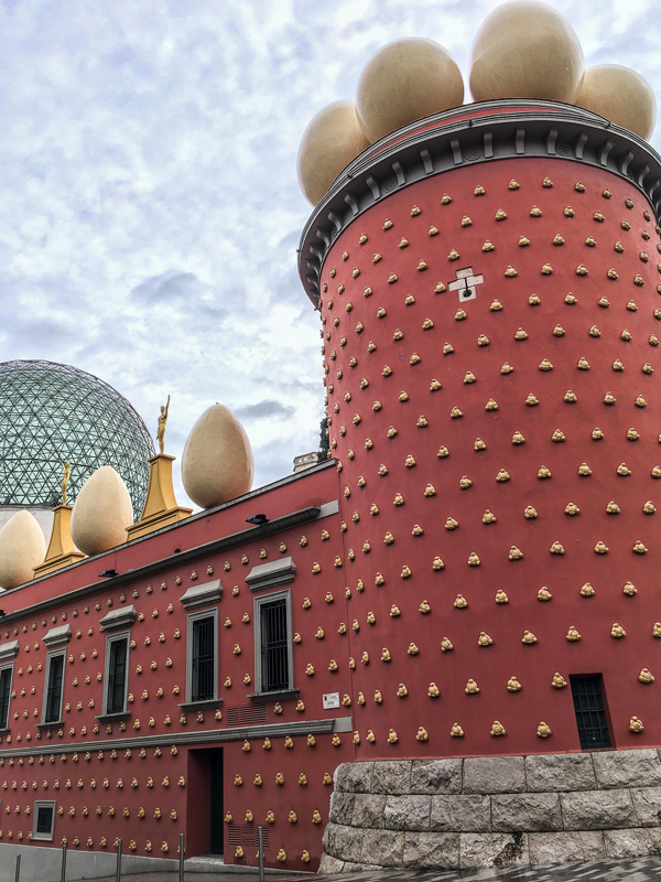 Dali Theatre-Museum in Figueres, Spain