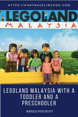 Legoland Malaysia with Little Kids Review