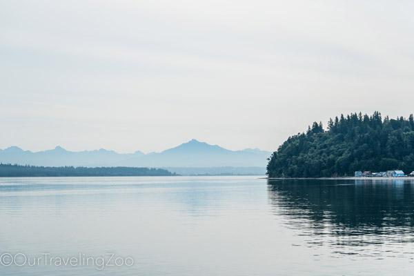 Peaceful moment on the Salish sea