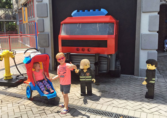 toddlers in Legoland Malaysia