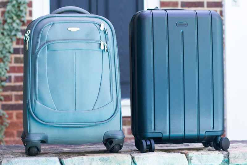 Chester Minima and Samsonite Size Comparison