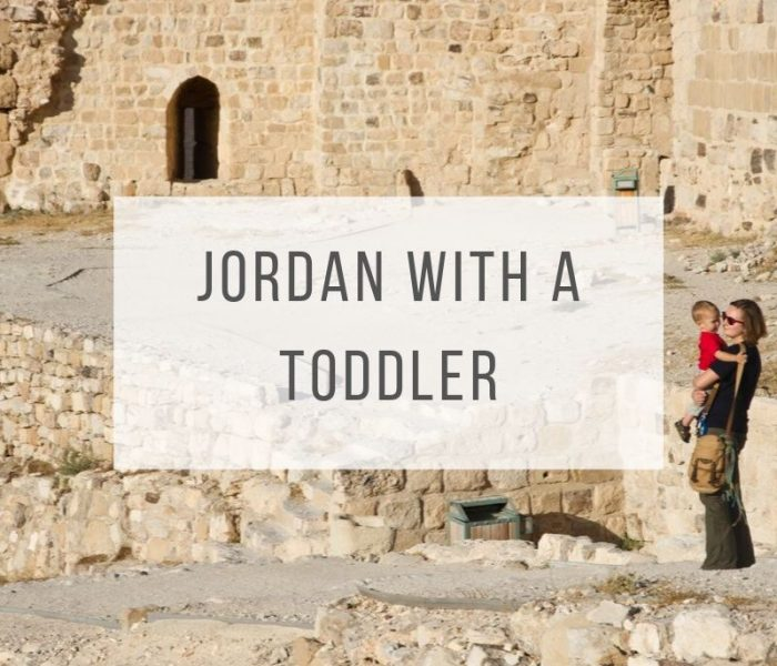 Jordan with a Toddler