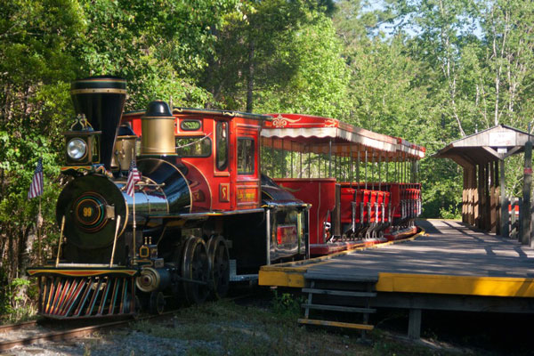 okefenokee swamp park train