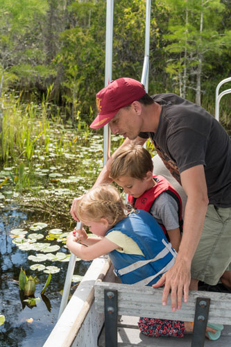 Okefenokee swamp tours with kids