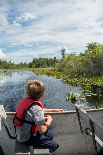 swamp boat tours