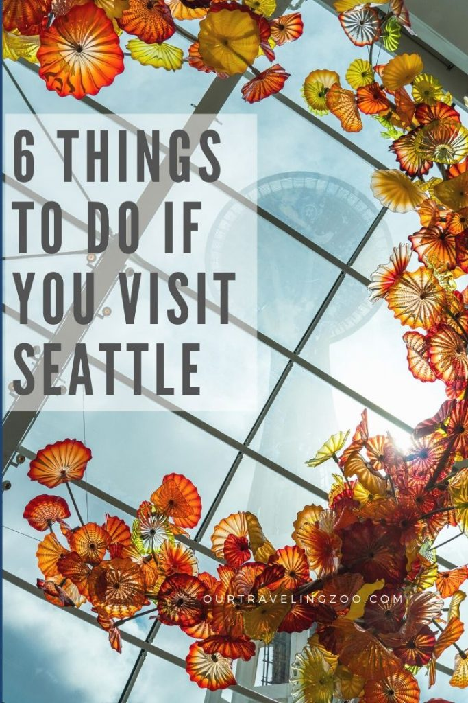 3 days in Seattle. What should you do?