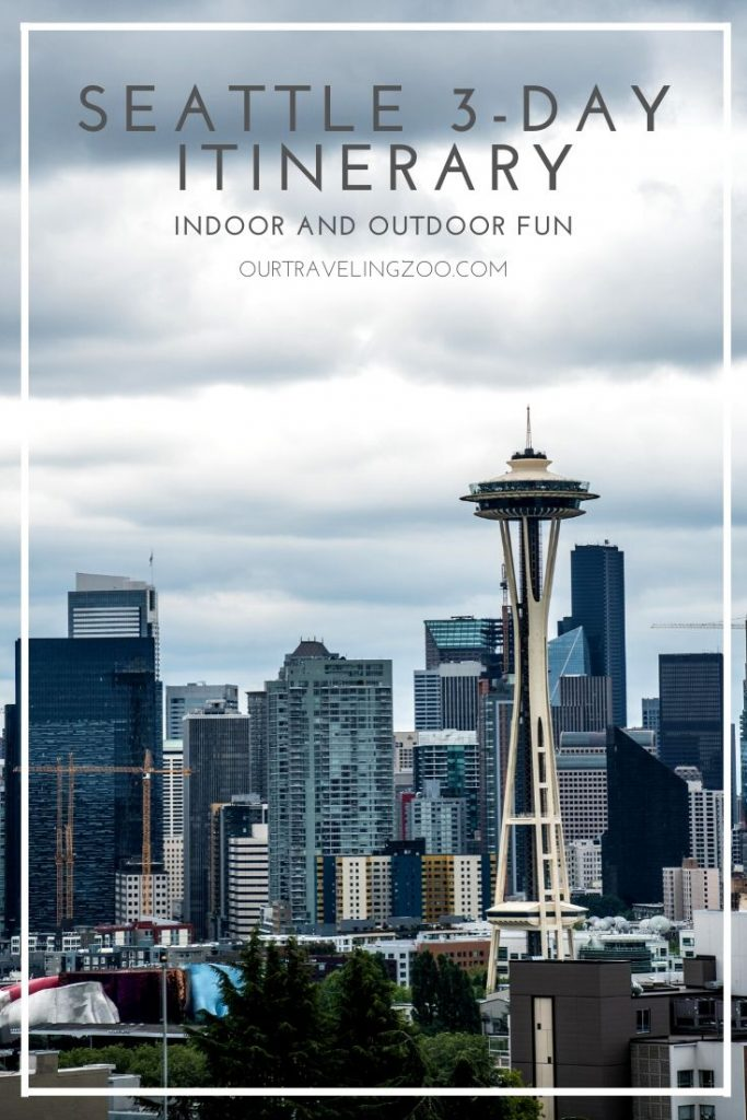 Family-friendly Seattle 3-day itinerary
