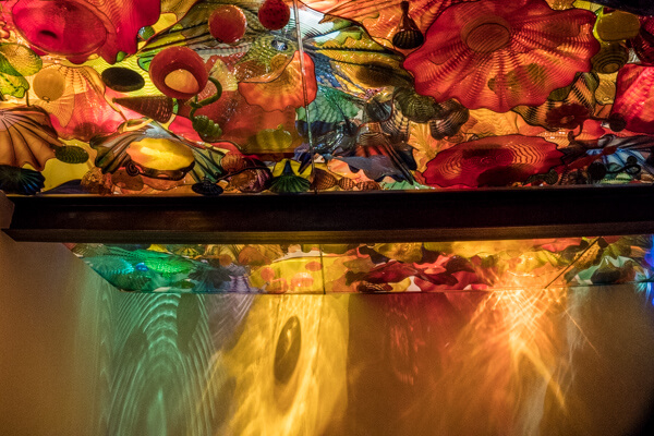blown glass ceiling Chihuly