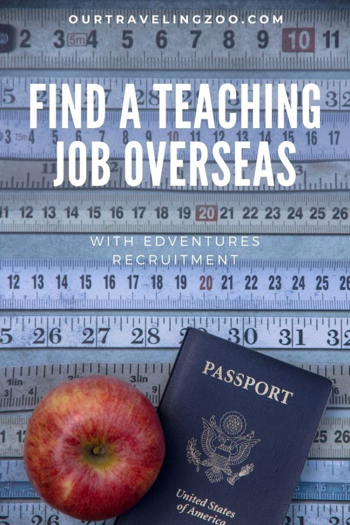 Find a teaching job overseas with Edventures Recruitment App