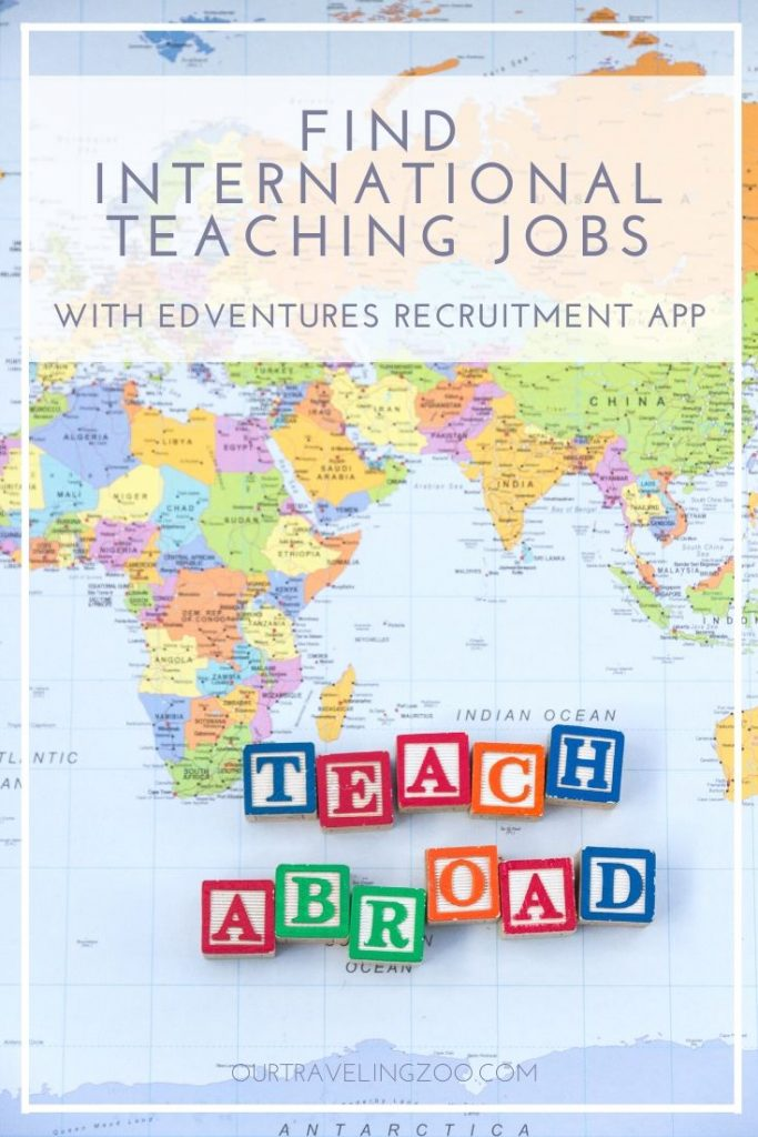 International teaching jobs with Edventures Recruitment App