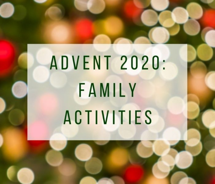 Family Activities for Advent 2020
